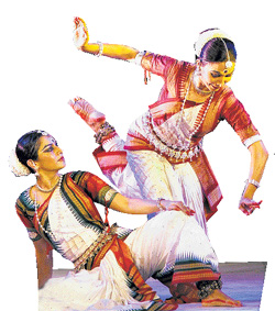 Graceful : Surupa Sen and Bijayini Satpathy.