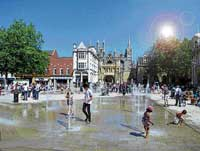 SUSTAINABLE CITY  Ambitious plans have been chalked out to transform Peterborough into a smart city.