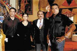 INDOMITABLE SPIRIT: The 'CID' team continues to keep us hooked to the show aired on Sony.