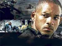 Action: Will Smith in I am Legend.
