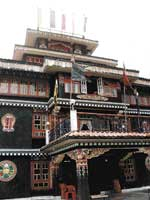 A hotel in Lachung