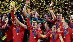 Dazzlers: Turning on the style in time, Spain were the biggest winners of 2010.