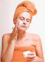 STAY YOUNG Cleansing, toning and moisturising can delay the appearance of lines and wrinkles.