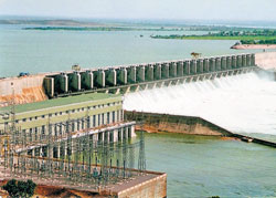 untapped: The irrigation and power generation potential of the Almatti reservoir is yet to be realised fully. dh photo