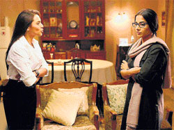 interesting Rani Mukherjee and Vidya Balan in No One Killed Jessica.