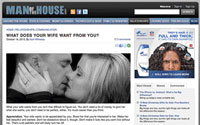 What women want: A screenshot of ManoftheHouse.com, the site that offers advice to married men on everything from sex to grilling burgers. The New York Times