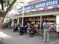 POPULAR Aahar Utsav is one of the favourite hangouts.