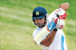 Virat Kohli is the only one who can don the role of a part-time medium-pacer in the Indian team. File Photo
