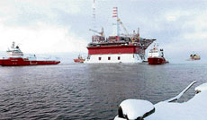DANGEROUS MOVE: New oil from Russia could prove vital to world supplies in coming decades, now that it has surpassed Saudi Arabia as the world's biggest oil producer. AP