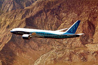 A file picture of Boeing 777