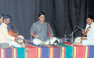 melodious Bharat Sunder and group.