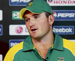 Gutted: Graeme Smith has no answer to his team's failures in crucial matches.