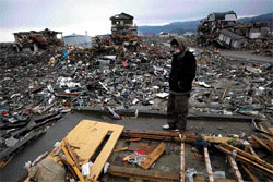 Reduced to rubble: Test of Japanese resilience AFP