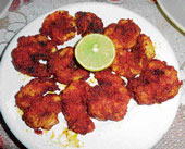 Mouth-Watering: Prawn fry