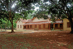 Old is gold Chamarajendra Ursu Boarding School is aiming to regain its past glory by making children enjoy learning at the kindergarten level . DH photo by Anurag Basavaraj