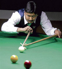RAINING SUCCESS: Alok Kumar says the Asian Games pool bronze gave him special hope and confidence. DH PHOTO