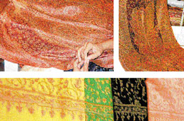 DELICATE 'Pashmina' shawls originated in Kashmir almost 400 years ago. Photos by Author