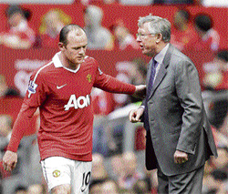 Key men Wayne Rooney will be Alex Ferguson's trump card as he plots revenge against Barcelona in the Champions League final at Wembley on May 28. AP