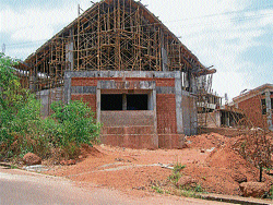 A view of the Regional Science Centre coming up in Pilikula. Photo/Author
