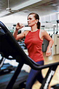 TRICKS & TECHNIQUES The next time you do cardio, focus on the movements and breathing while squeezing those muscles.