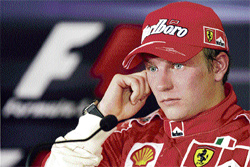 eager explorer:  Finnish ace Kimi Raikkonen says he is driven by the urge to try out different things in life.
