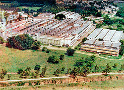 An aerial view of the then Ideal Jawa factory. The factory was demolished and an apartment building stands in its place now.  file photo