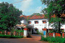 A view of the Udupi Deputy Commissioner's office in Bannanje.