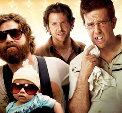 The cast of 'The Hangover'.