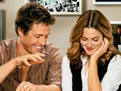 Enjoying: Hugh Grant and Drew Barrymore in 'Music and Lyrics'.