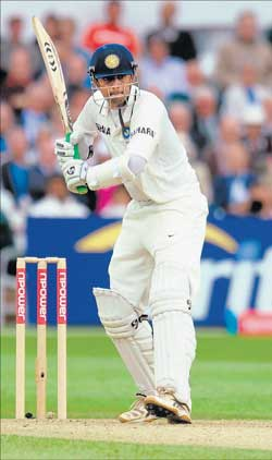 Mr perfect: Rahul Dravid has handled every hurdle in his life with tact and skill. AFP