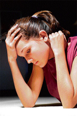 alarming Many women suffer from various stress-related ailments.