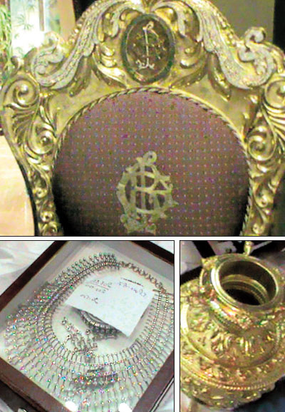 All that glitters is gold in Reddy palace | Deccan Herald