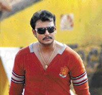 Kannada film actor Darshan- File Photo