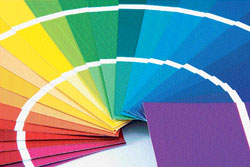 GET THE COLOURS RIGHT Modifying the facade of your home involves three elements, form, decoration and colour.