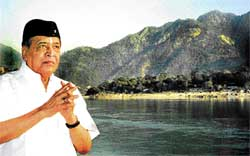 People's poet: Bhupen Hazarika was famously known as the 'Bard of Brahmaputra'.