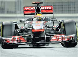 Smooth  drive:  Red Bull might have dominated the 2011 season but McLaren has shown that it can challenge the champions next season. AP