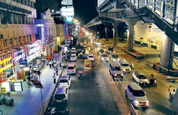 File Photo. Picture of MG Road Bangalore