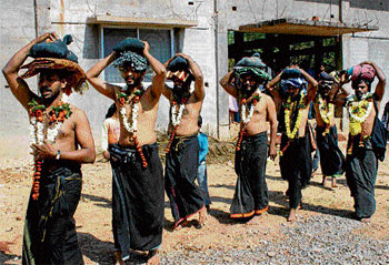 committed A large number of pilgrims are going from the City to Sabarimala this year as well.