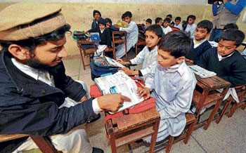 In the last five years, 6,000 teachers were recruited in Jammu and Kashmir. DH Photo