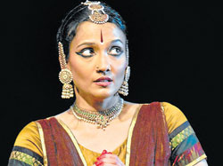 Classical moves : Savitha Sastry performs the dance drama.