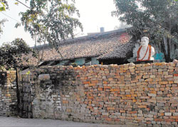 George Orwell's birthplace at Mothihari in Bihar.