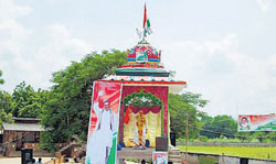 YSR was a devout Christian but this temple at Rajagopalapuram built in his memory will follow Hindu rituals.