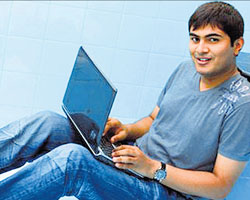 Hacking king : Ankit Fadia