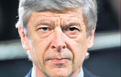 TIME TO GO? Arsene Wenger has struggled to find success in recent times.
