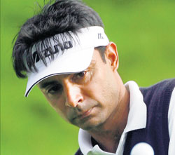 Hungry again: Jyoti Randhawa says after a tough period, he is ready to move forward in his career.