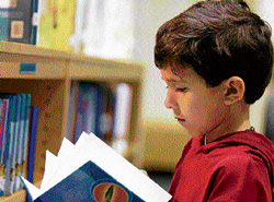 THE HABIT OF READING Students need to be provided easy access to the school library.