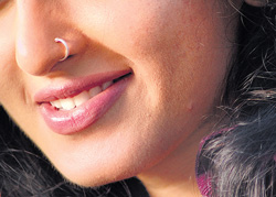 Look Sizzling With A Nose Ring Deccan Herald