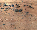Mars rover finds rock resembling Earth's interior