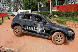 Audi Q-Drive in Bangalore