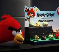 Now, enjoy Angry Birds sweets